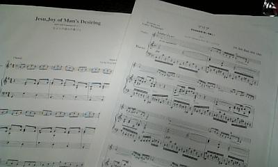 バイオリンに伴奏♪